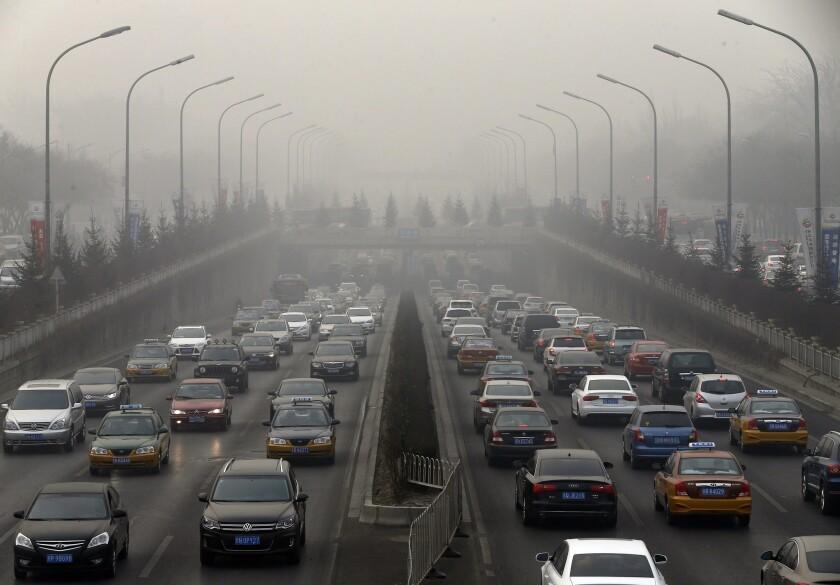U.S.-China greenhouse gas agreement