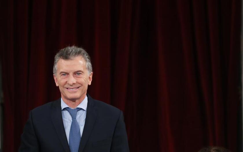 El presidente de Argentina, Mauricio Macri. EFE/Archivo