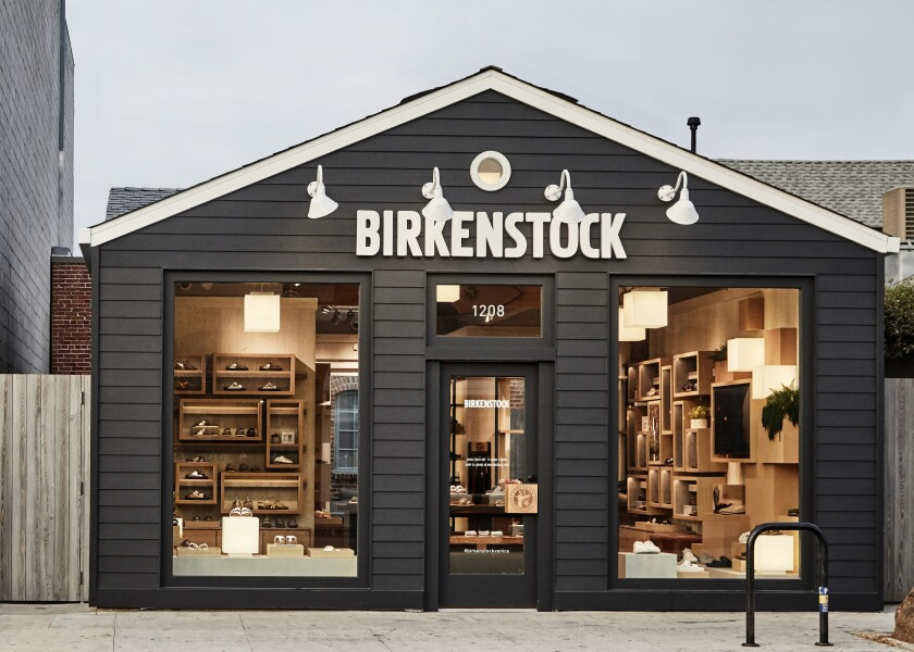 Birkenstock's second U.S. stand-alone store is at 1208 Abbot Kinney Blvd. in Venice