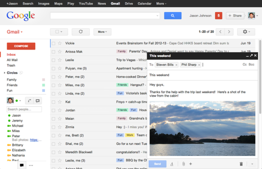 Google's decision to change Gmail 'compose' feature sparks complaints