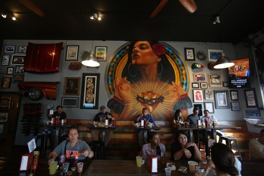 Inside Salud! in Barrio Logan.
