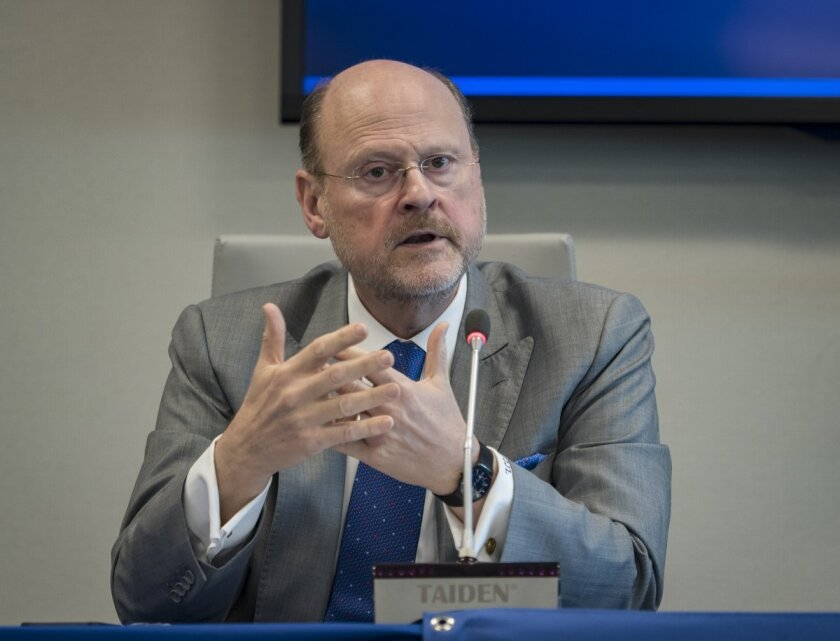 """""""No one's running up the numbers in this,"""" said Metropolitan Transportation Authority Chairman Joe Lhota."""