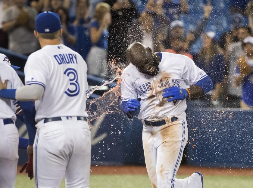 APTOPIX Orioles Blue Jays Baseball