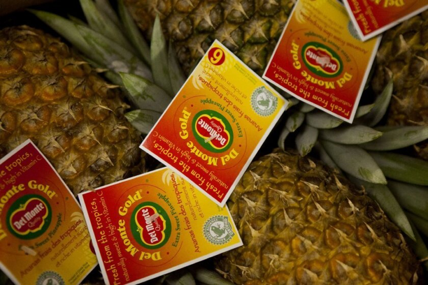 Del Monte is one of the world's largest suppliers of fresh produce.