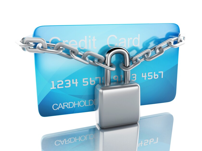 """Many banks and credit card issuers are adding the option of temporarily """"locking"""" your card."""