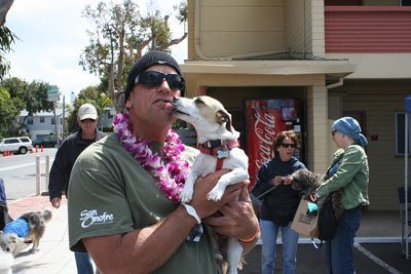 At least one canine pal seemed happy about the 2010 Pet Fest. Light file photo