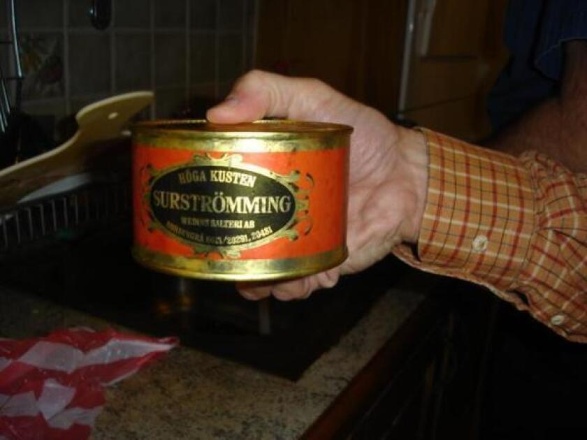 You may have to have Swedish genes to eat surströmming.