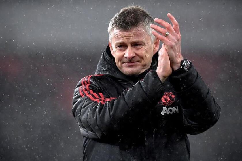El entrenador del Manchester United, Ole Gunnar Solskjaer. EFE/Archivo