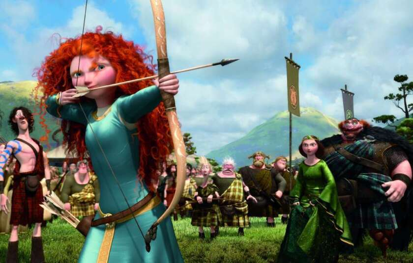 "During a ""Daily Show"" episode, Jon Stewart said he was unimpressed by Disney's controversial makeover of ""Brave"" heroine Merida."