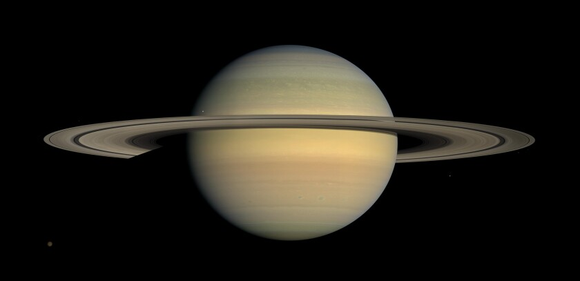 Saturn New Moons