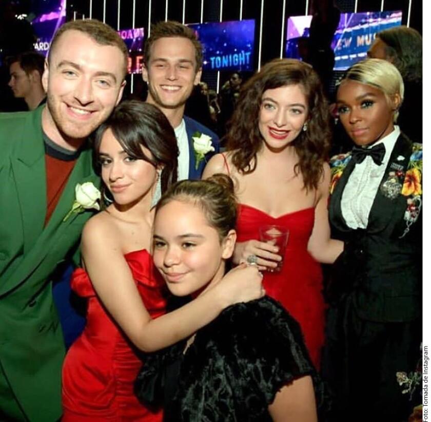 En el salón principal del Marriott Marquis de Times Square, el after party de los Grammy se prolongó hasta ayer por la madrugada.