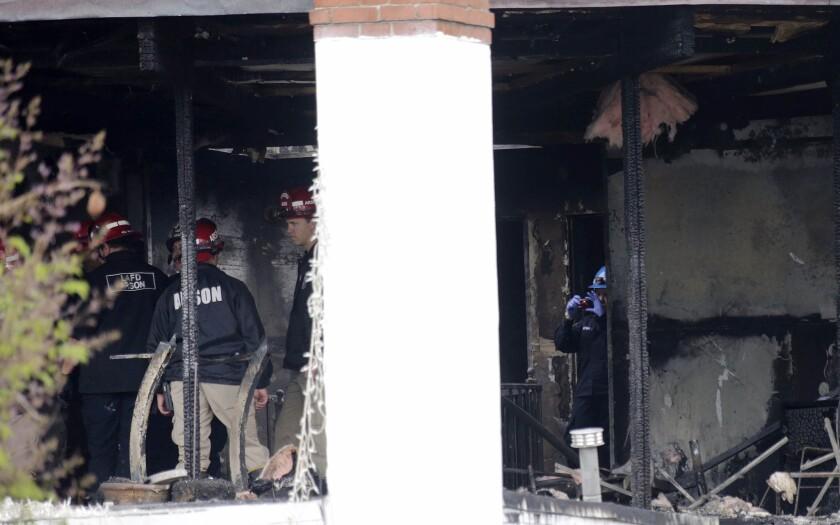 House fire in South LA