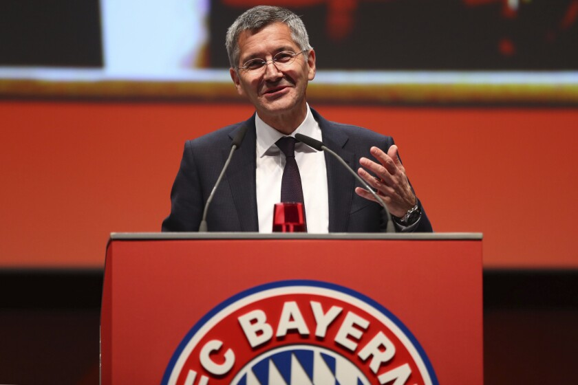 Germany Soccer Bayern Munich Hoeness