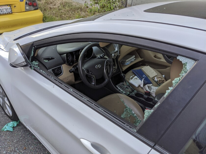Virus Outbreak Car Thefts