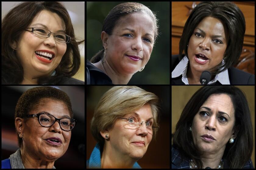 Possible running mates for Joe Biden