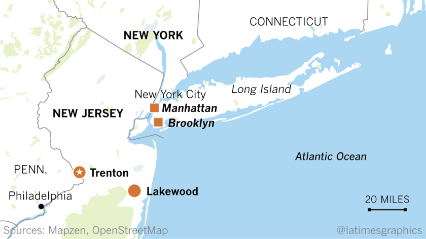 Raids in New Jersey town target ultra-Orthodox Jews accused