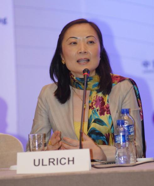Jing Ulrich is the managing director and chairman of J.P. Morgan's China equities and comodities.