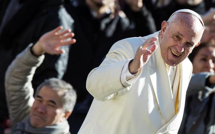 En la imagen, el papa Francisco. EFE/Archivo