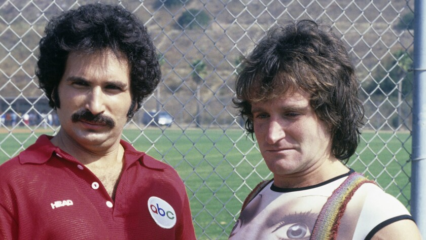 "1978 ""Battle of the Network Stars"" featuring Gabe Kaplan and Robin Williams."
