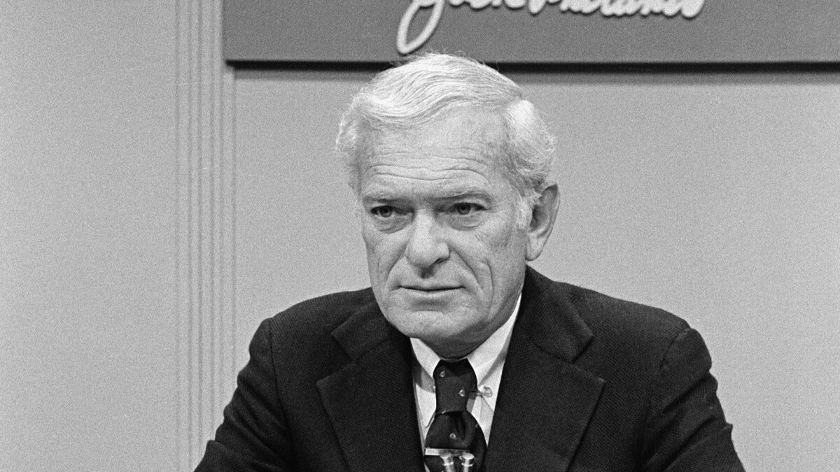 Jack Whitaker, Hall of Fame sports broadcaster, dies at 95
