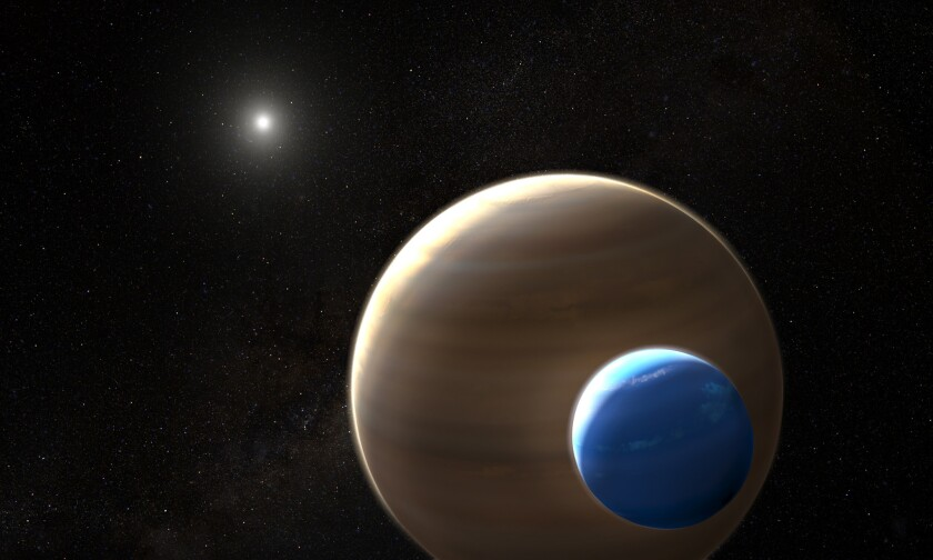 NASA's Hubble Space Telescope has uncovered what could be the first moon outside our solar system ever found.