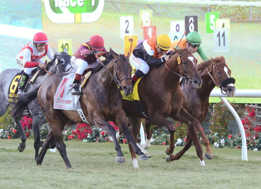 Racing returns to Del Mar on Nov. 11.
