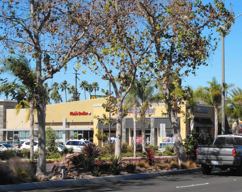 The city of Costa Mesa recognized by a professional group for its Harbor Boulevard project, which included planting new trees and installing drought-tolerant landscaping.