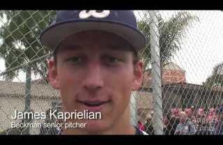 James Kaprielian is true ace pitcher for Beckman