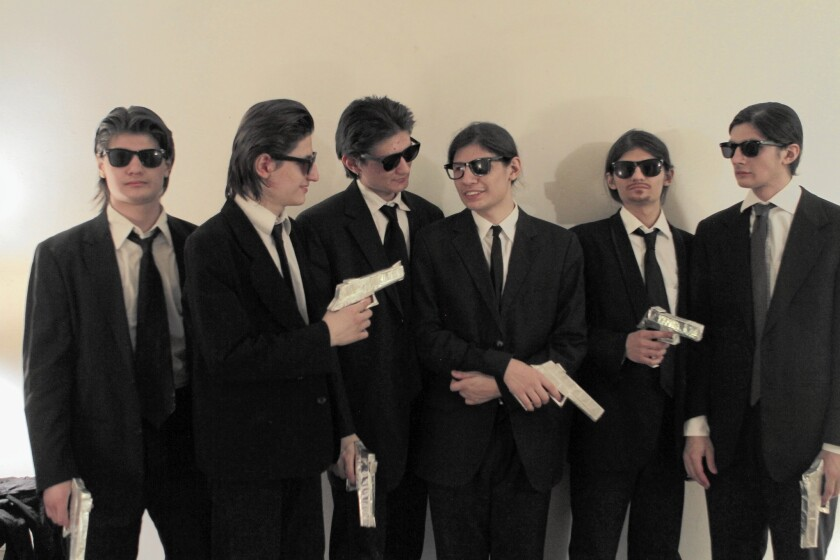 """Crystal Moselle's """"The Wolfpack"""" documents the Angulo brothers, whose main connection to the world outside their family's home was through movies."""