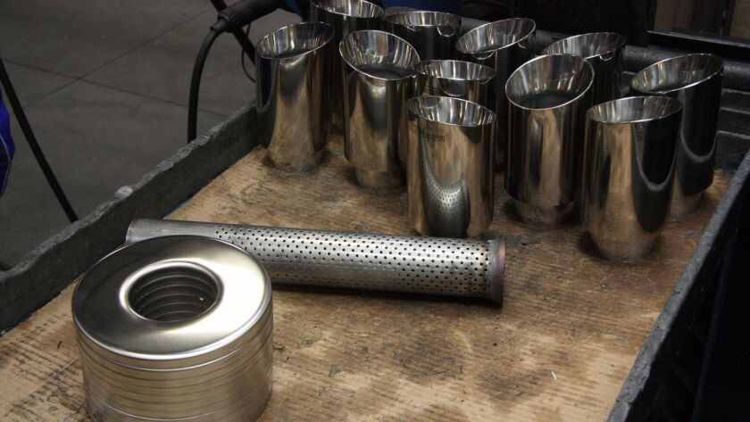 The perforated steel tube is the heart of the Mangaflow sound.