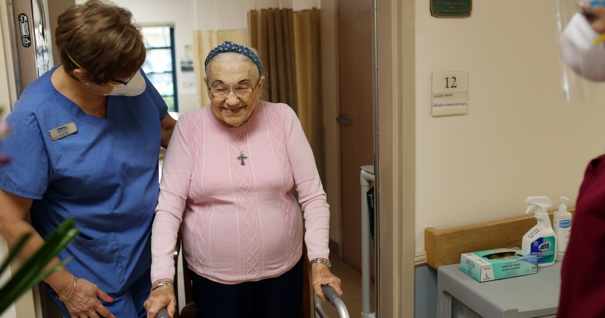 COVID-19 vaccines may not work on nursing home patients. Why do they get first dibs?