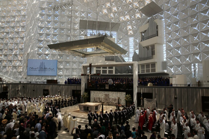 Christ Cathedral reopening