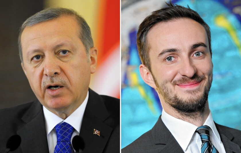 Crude poem about Turkish president