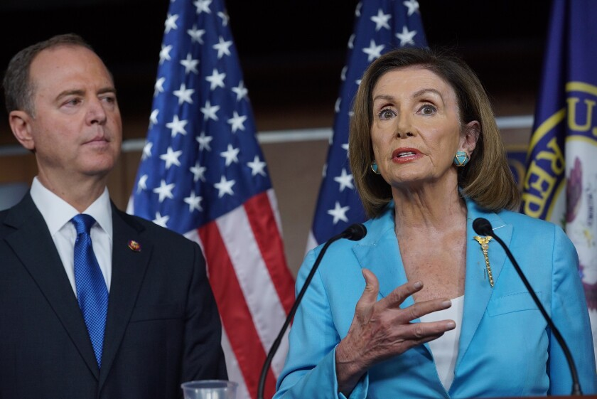 Pelosi and Schiff