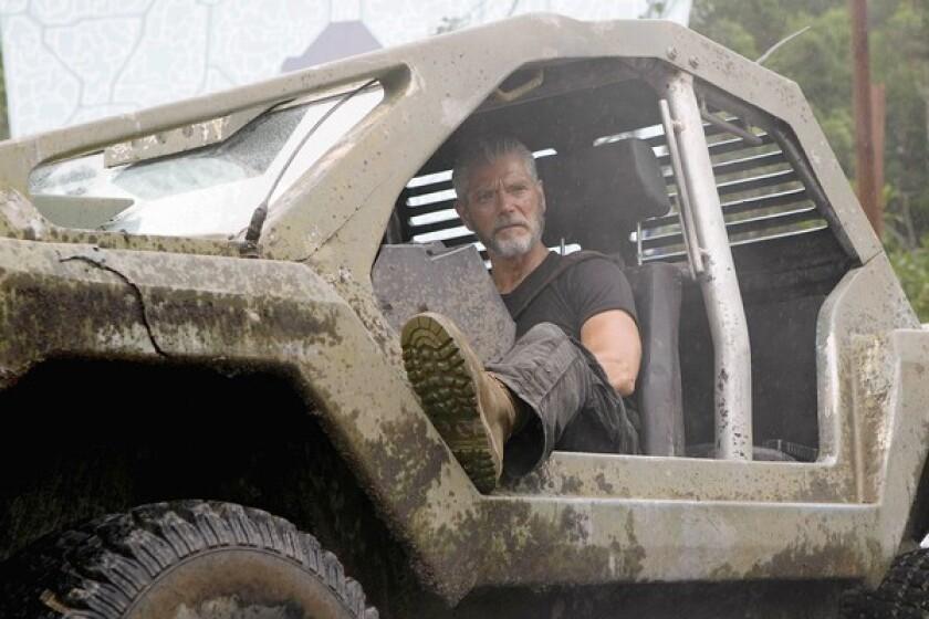 "Stephen Lang as Commander Nathaniel Taylor in ""Terra Nova."""