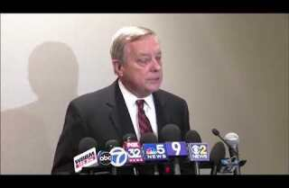 Illinois Sen. Richard Durbin confirms President Trump's language