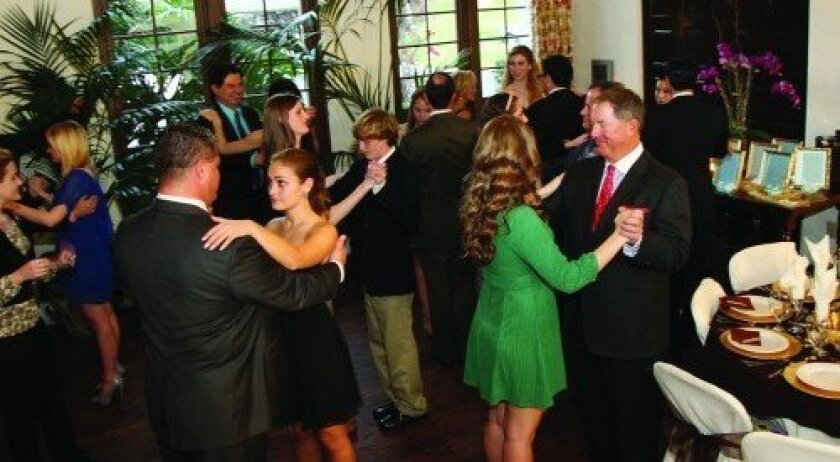 NCL Father-Daughter Waltz at the Fairbanks Clubhouse