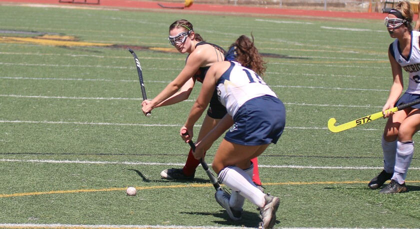 Sophomore Andie Gately is CCA's leading goal-scorer.