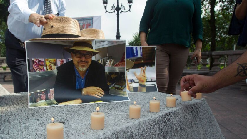 MEXICO-CRIME-VIOLENCE-PRESS-JOURNALIST-VALDEZ