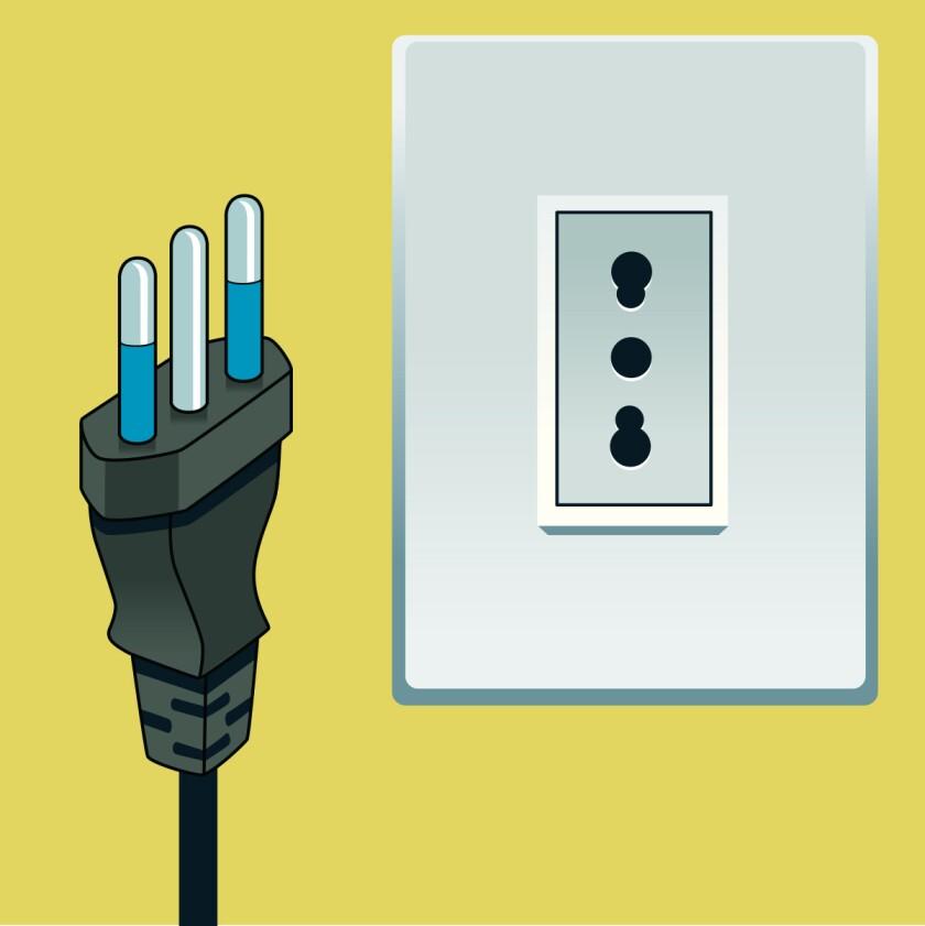 Type L plug and socket