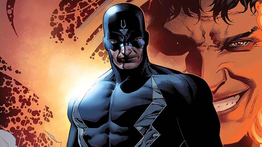 "Black Bolt, leader of the Inhumans, from ""Marvel's the Inhumans."""