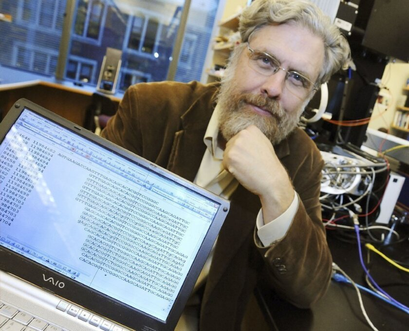 Harvard Medical School genetics professor George Church in 2008. He said this week that, Internet rumors to the contrary, he is not recruiting women to give birth to cloned Neanderthal babies.