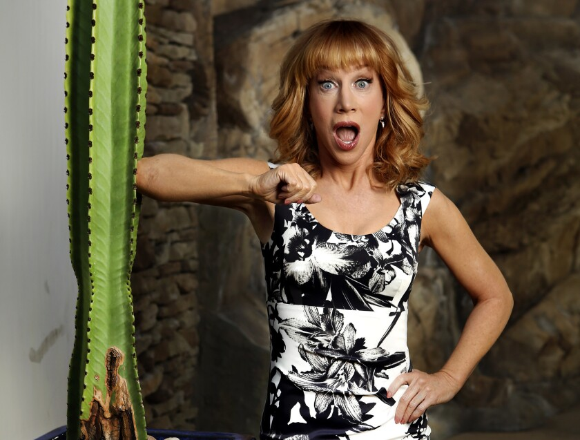 """Kathy Griffin will be casting a gimlet eye over the Golden Globes red carpet as she takes a seat for the first time on the """"throne"""" of """"Fashion Police."""""""