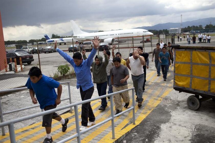 México deportó entre enero y agosto a 27.163 guatemaltecos que iban a EE.UU.