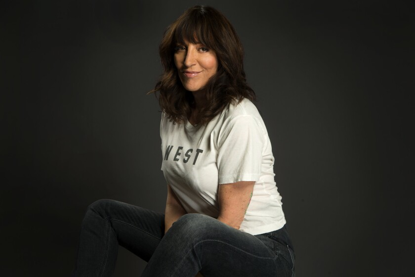 """STUDIO CITY, CA.,OCTOBER 18, 2017--actress Katey Sagal, who stars in the sitcom """"Superior Donuts"""" on"""