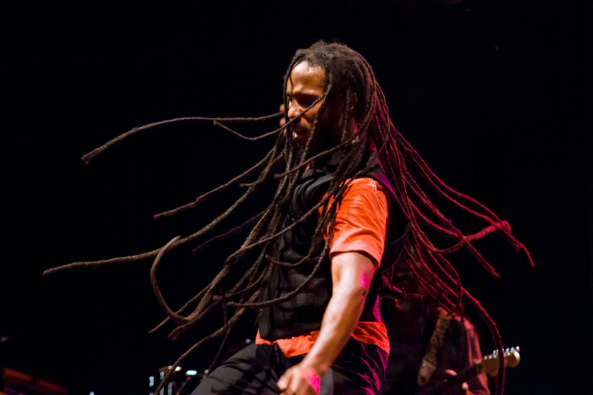 Ziggy Marley, the oldest son of Bob Marley, has been a solo artist since 1985.