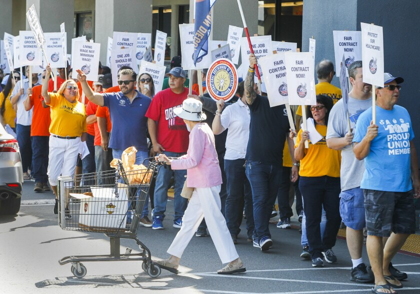 Grocery Worker Rally