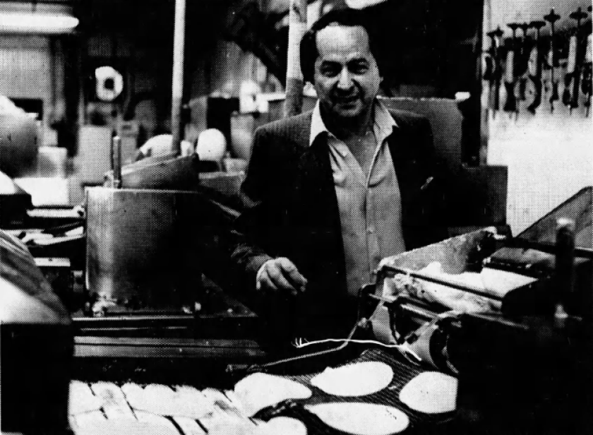 Samuel Magaña is shown in 1983.