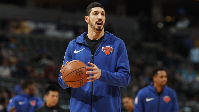 Knicks center Enes Kanter