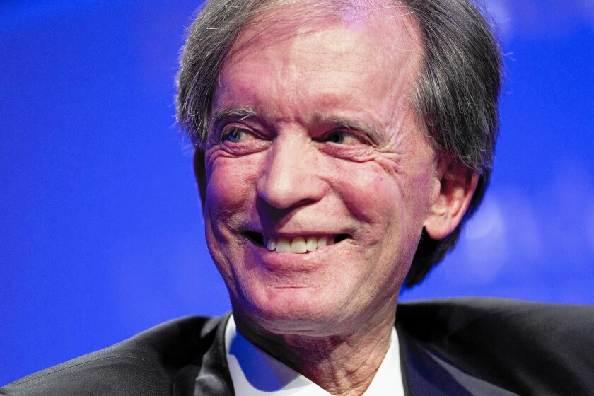 A Pimco trustee recently questioned the $200-million salary of co-founder Bill Gross, above.